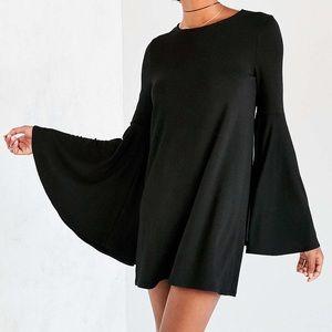 Ecote bell sleeve mini dress